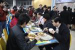 教育部副部长李卫红与师生共进晚餐